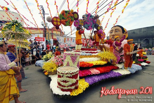 floral float competition - kadayawan festival highlight, davao city, philippines