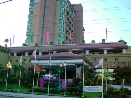 grand regal hotel, jp laurel, davao city, philippines