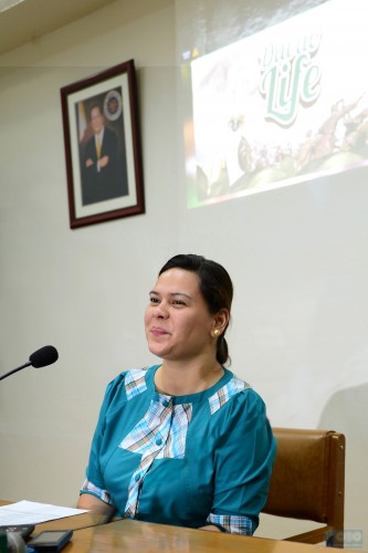 Davao City Mayor Sarah Duterte