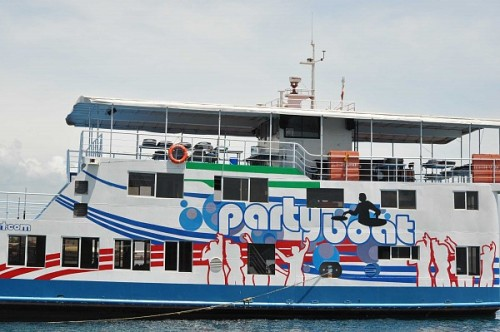 the venue party boat in davao city