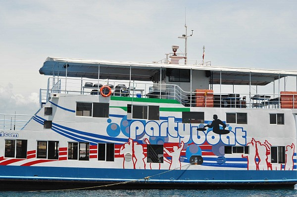 the venue party boat in davao city
