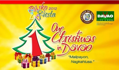 davao pasko fiesta 2012 schedule of events
