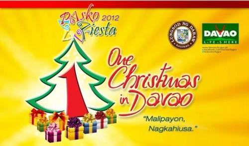 davao pasko fiesta 2012 schedule of events