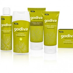 Godiva LicoWhite Set of Skincare Products