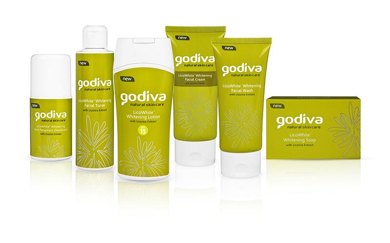 Godiva LicoWhite Set of Skincare Products