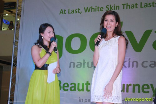 claudette introduces the new face of godiva, Jessica Kienle