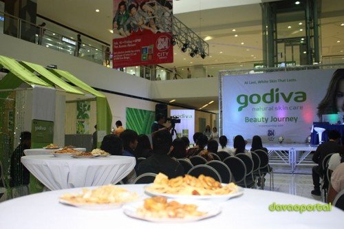 Davao Portal at Godiva Skin Care Product Launching at SM City Davao