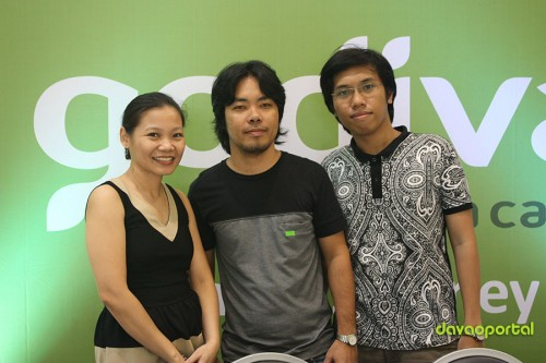 Davao Portal Team with Ms. Ella Bugayong-Pabellano, Marketing Services Manager of Godiva