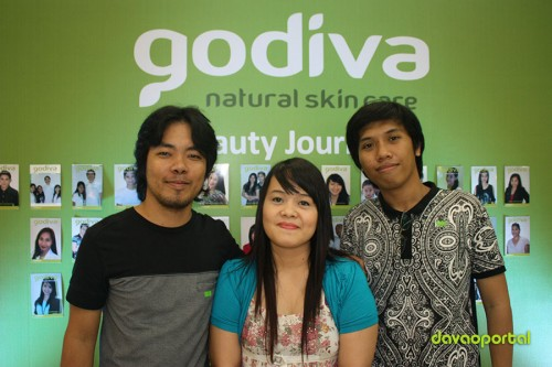 Davao Portal Team at Godiva Skin Care Product Launching in Davao City