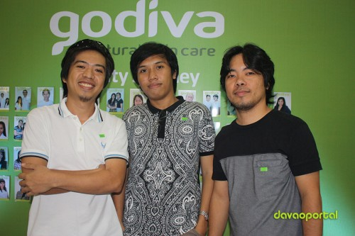 Davao Portal Team at Godiva Skin Care Product Launching in Davao