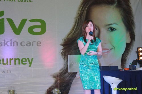 Godiva Inc. General Manager Speaks at Product Launching in Davao City