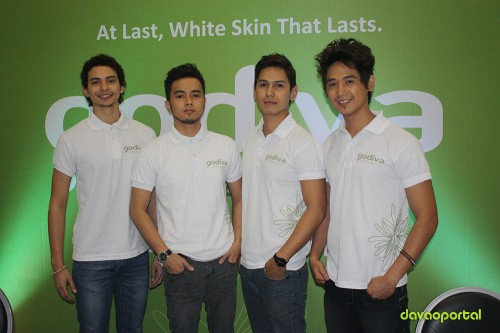 Godiva Skin Care male models