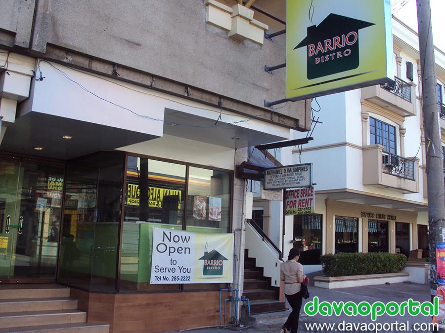Barrio Bistro at Duterte Street, Davao City