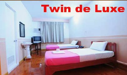 twin de luxe room rate - my hotel davao