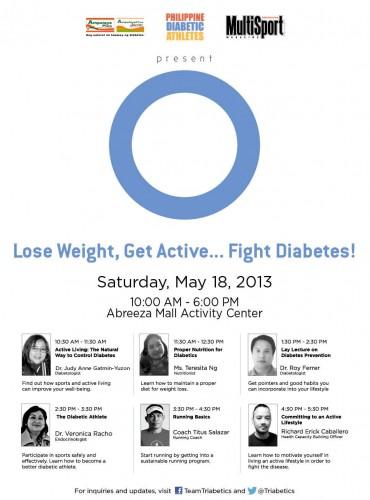seminar on diabetes management at abreeza mall davao