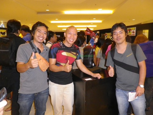 Superhero Sculpture Exhibit with Harold Soriaga at Abreeza Mall