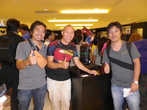 Superhero Sculpture Exhibit with Harold Soriaga at Abreeza Mall