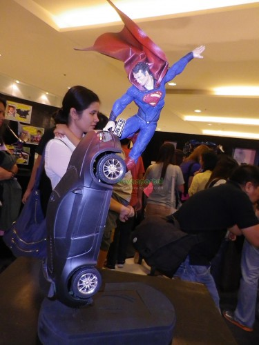 Superhero Sculpture Masterpiece by Harold Soriaga