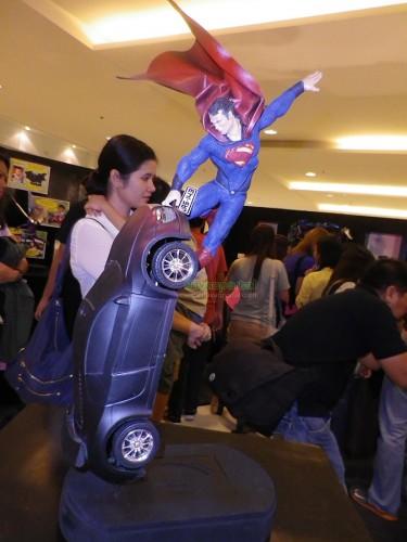 Superhero Sculpture Masterpiece by Harold Soriaga