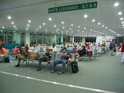 davao city airport departure area