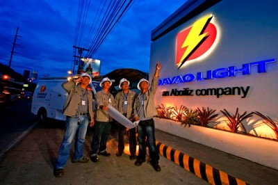 davao light - an aboitiz power company