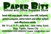 Paper Bits School and Office Supplies