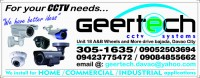 For Sale: CCTV Equipment @ GEER Technologies