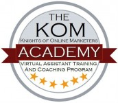 Integrated Comprehensive Virtual Assistant Training and Coaching Program of the KOM Academy