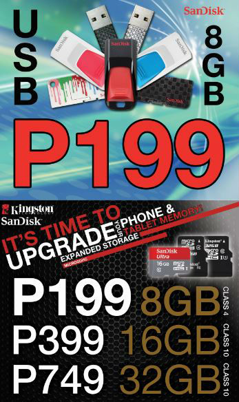 P199 for 8gb Flash Drive or Micro SD