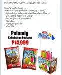 PALAMIG PACKAGE