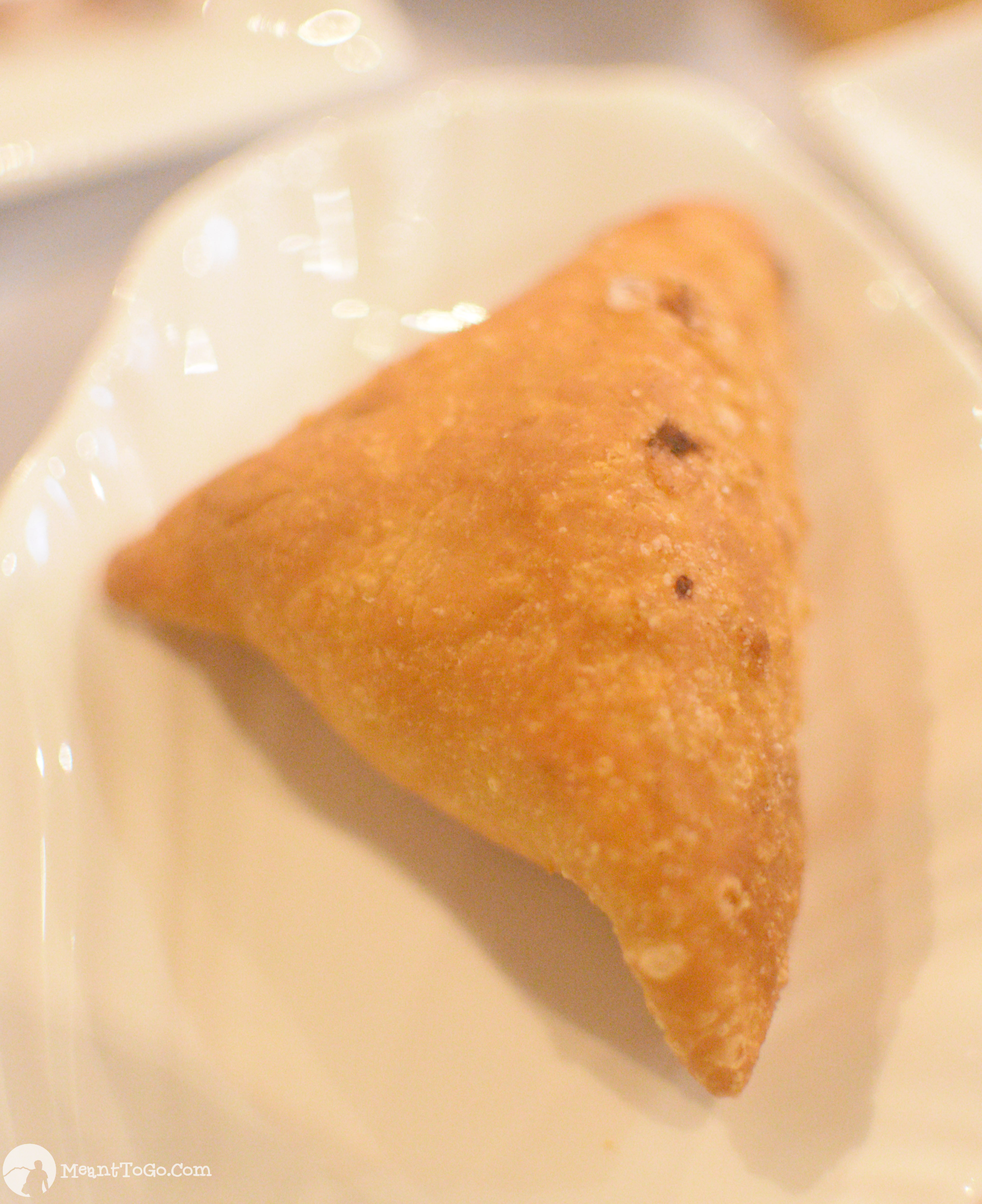 Samosa served at The 5S Box Indian Restaurant in Davao City