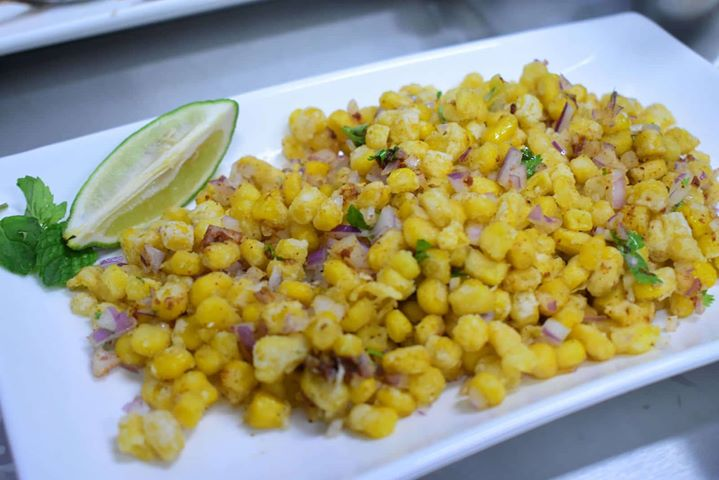 Crispy Corn at The 5S Box Indian Restaurant